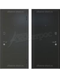 Надёжная 2-х листовая дверь из металла