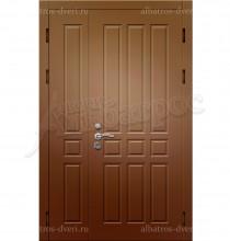 """Входная металлическая двухстворчатая дверь """"Альбатрос-Д1"""""""