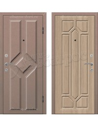 Входная металлофиленчатая дверь МФ-010