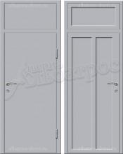 Входная металлическая нестандартная дверь - НД-001