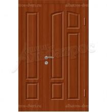 Двухстворчатая металлическая дверь 04-96