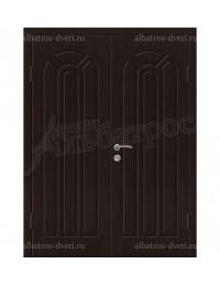 Двухстворчатая металлическая дверь 04-97