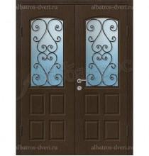 Двухстворчатая металлическая дверь 05-01