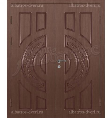 Двустворчатая металлическая дверь, модель 14-005