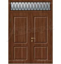 Двустворчатая металлическая дверь, модель 14-007