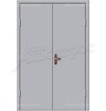 Двухстворчатая металлическая дверь 02-85