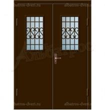 Входная металлическая дверь 02-86