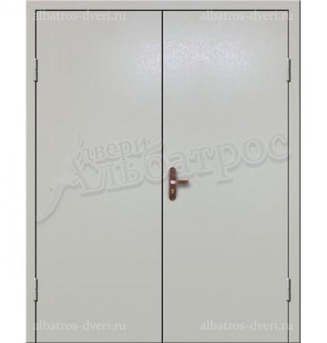 Входная двухстворчатая дверь на заказ 02-95