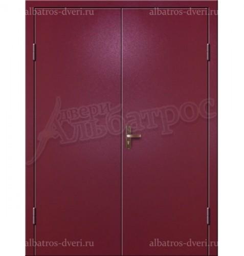 Входная двухстворчатая дверь на заказ 02-96