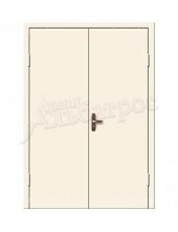 Двухстворчатая металлическая дверь 02-99