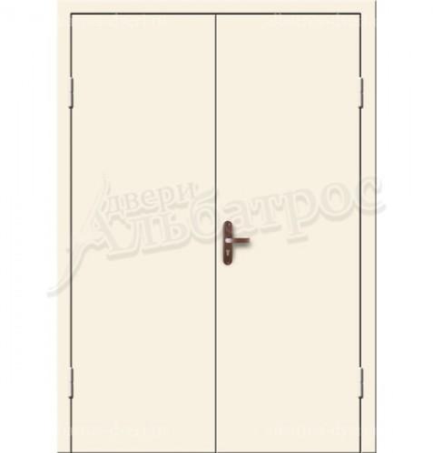 Входная двухстворчатая дверь на заказ 02-99