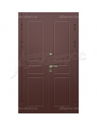 """Входная металлическая двухстворчатая дверь """"Альбатрос-Д2"""""""