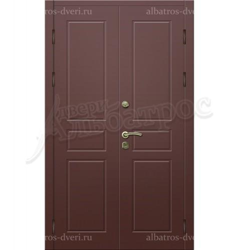 Входная двухстворчатая дверь на заказ 00-09