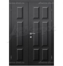 Двухстворчатая металлическая дверь 03-56