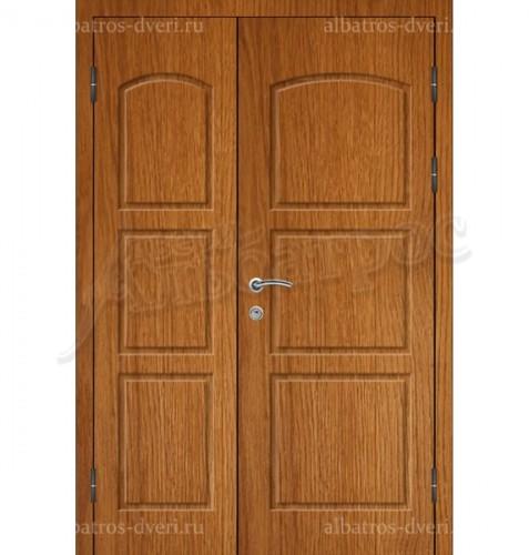 Двухстворчатая металлическая дверь 03-60