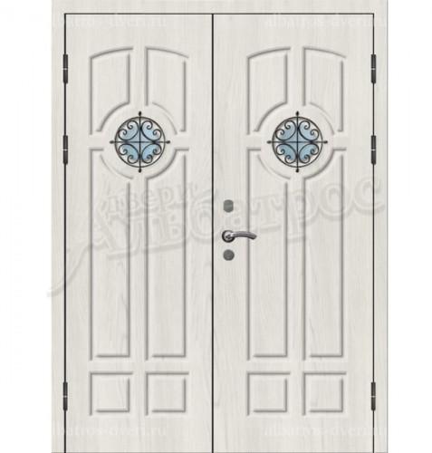 Двухстворчатая металлическая дверь 03-68