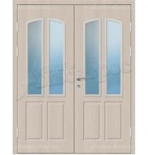Двухстворчатая металлическая дверь 04-24