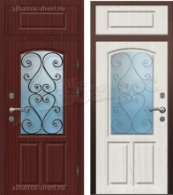 Входная металлическая дверь 03-66