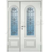 Двухстворчатая металлическая дверь 04-57