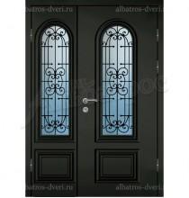 Двухстворчатая металлическая дверь 04-59