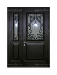 Двухстворчатая металлическая дверь 04-67