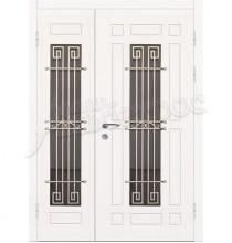 Двухстворчатая металлическая дверь 04-69