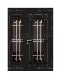 Двухстворчатая металлическая дверь 04-71