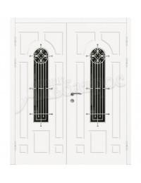 Двухстворчатая металлическая дверь 04-73