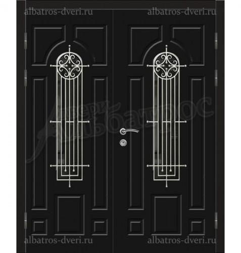 Двухстворчатая металлическая дверь 04-75