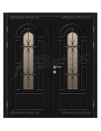 Двухстворчатая металлическая дверь 04-79