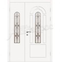 Двухстворчатая металлическая дверь 04-81