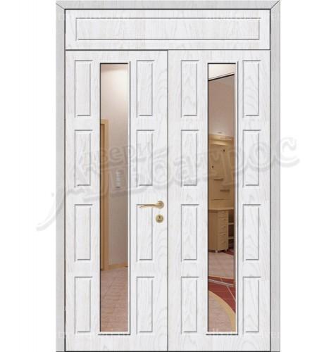 Двухстворчатая металлическая дверь 02-83