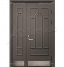 Двухстворчатая металлическая дверь 00-12