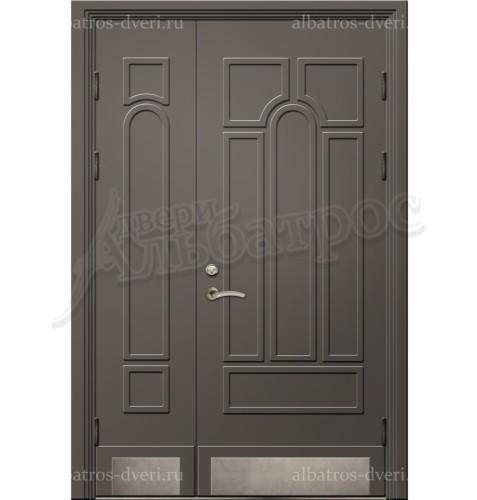 Входная двухстворчатая дверь на заказ 00-12