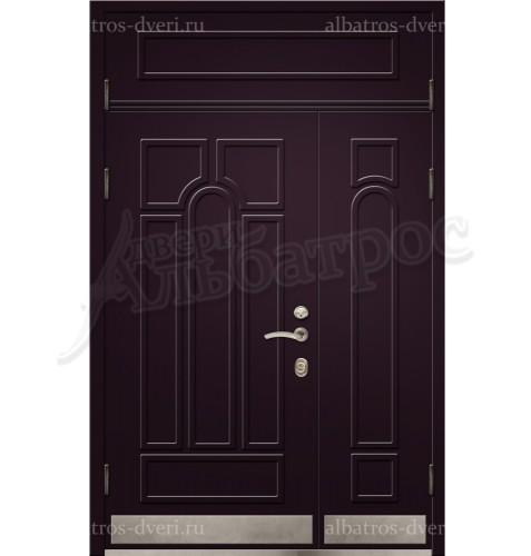 Двухстворчатая металлическая дверь 00-33