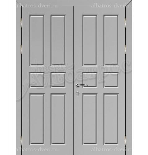 Двухстворчатая металлическая дверь 03-33