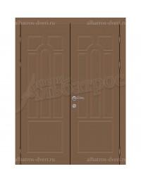 Двухстворчатая металлическая дверь 03-34