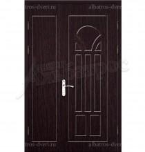 Двухстворчатая металлическая дверь 00-31