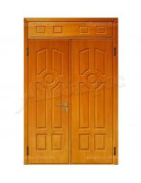 Двухстворчатая металлическая дверь 00-32