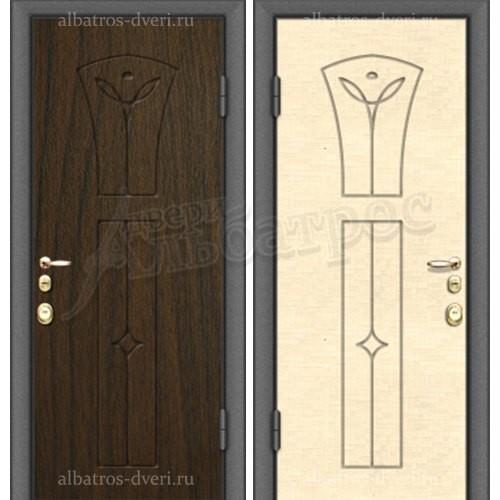 Входная металлическая дверь модель МДФ F10