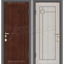 Входная металлическая дверь 02-11
