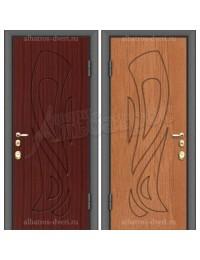 Входная металлическая дверь 02-16