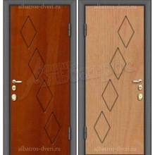 Входная металлическая дверь 02-17