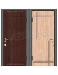 Входная металлическая дверь 02-19