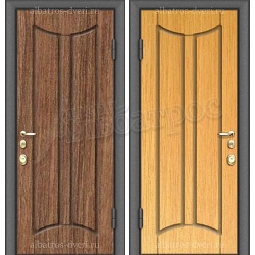 Входная металлическая дверь модель МДФ S37