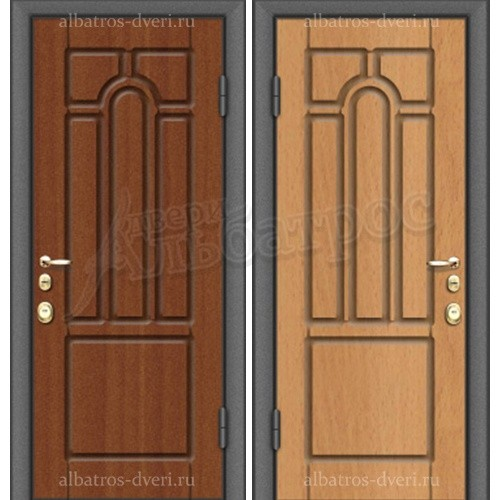 Входная металлическая дверь модель МДФ S61