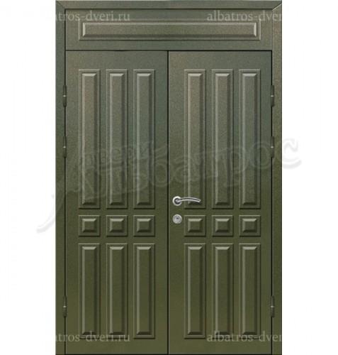 Двухстворчатая металлическая дверь 03-37