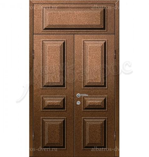 Двухстворчатая металлическая дверь 03-39