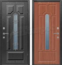 Входная металлофиленчатая дверь МФ-008