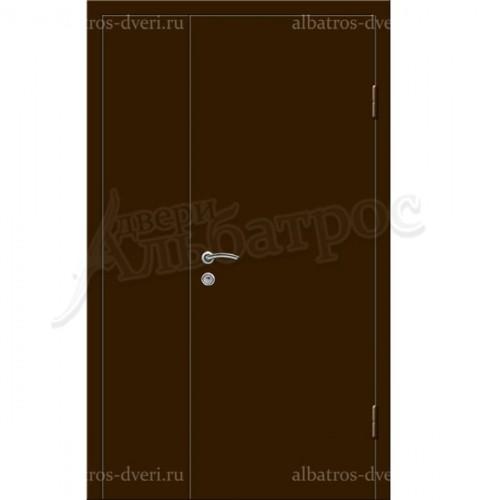 Входная металлическая нестандартная дверь 03-71